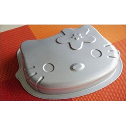 """Picture of 8"""" Hello Kitty Baking Pan Mould For Jelly, Chocolate, Pudding And Cupcake H5 cm. (GC280-8836)"""