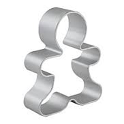 Picture of Cookie Cutter Gingerbread Shape L6xW5xH2.2 cm. (GC280-8257)