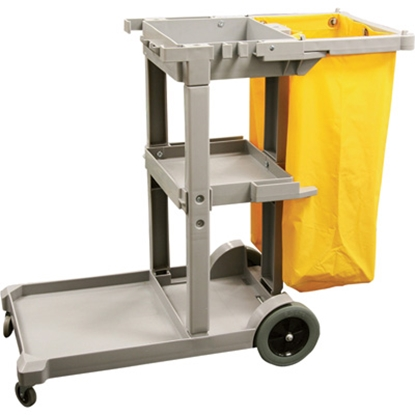 Picture of Janitor Cleaning Cart Gray Color L112.5xW51xH96 cm. (GC119-K-108)