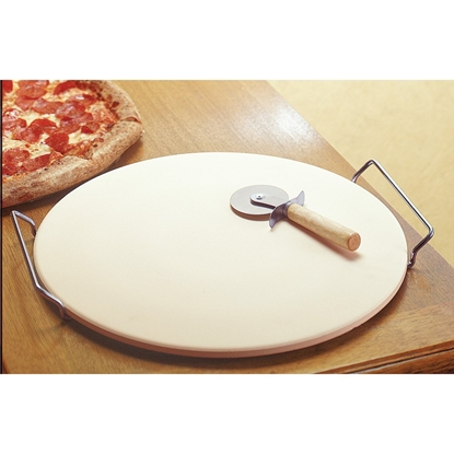 "Picture of Pizza Stone 13"" by Laroma (LAROMA-133PCRC)"