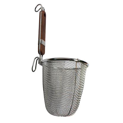 Picture of Udon Tebo Noodle Strainer Medium Mesh L36xD14 cm. (GC117-STRAINER55)